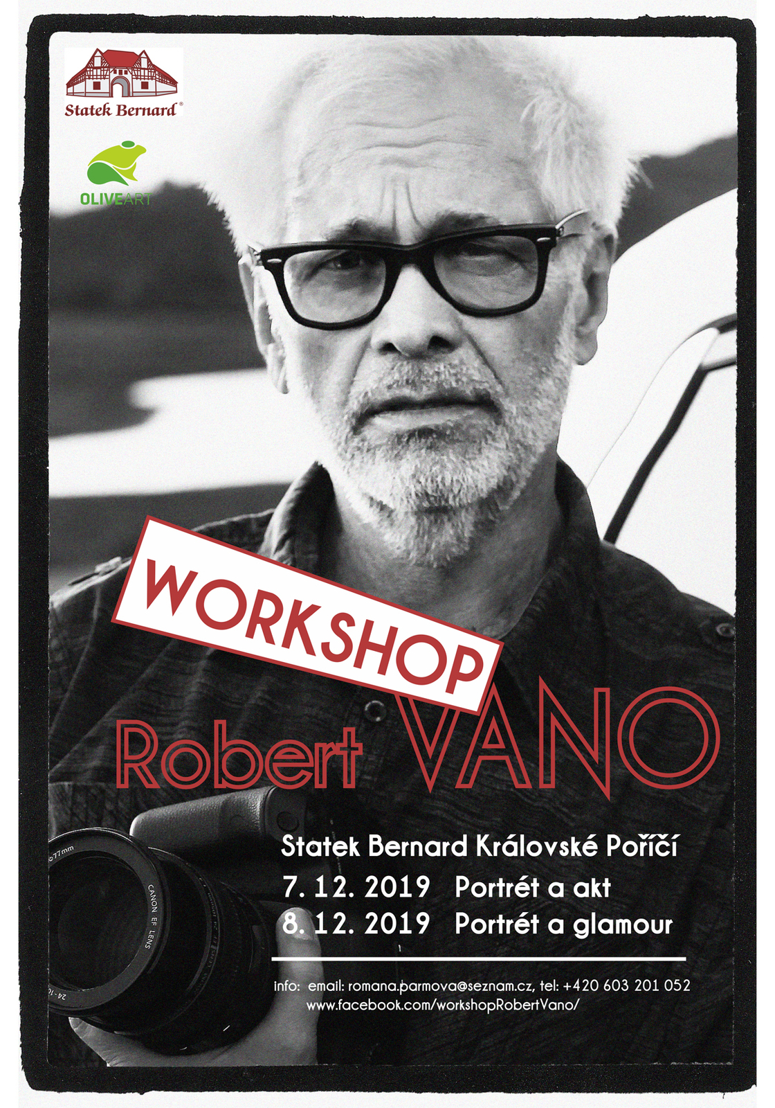 Robert Vano na Statku Bernard - workshop
